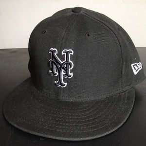 New York Mets Fitted Baseball Cap